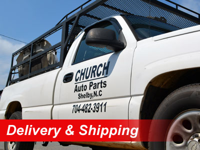Fastest Used Auto Parts Delivery & Shipping